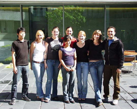 In the first edition of the programme in Summer 2007 we hosted 9 interns from Brazil, Bulgaria, Canada, Japan, Malaysia, Poland and Serbia.