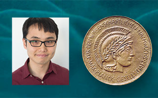 Ken Lam, Post-Doc in the Akhtar Lab, receives the Otto Hahn Medal for his outstanding research in the field of chromatin regulations.