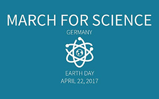 MPI-IE supports the March for Science in Freiburg on April 22nd, 2017