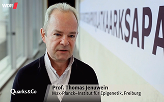 Interview with Prof. Dr. Thomas Jenuwein on epigenetics (Quarks&Co, WDR Fernsehen, July 5th, 2016, german)