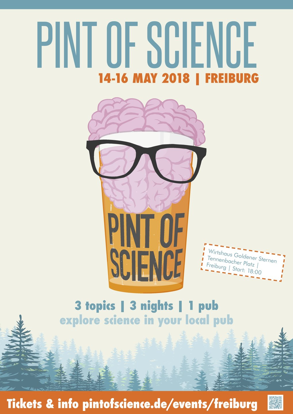Poster: Pint of Science 2018