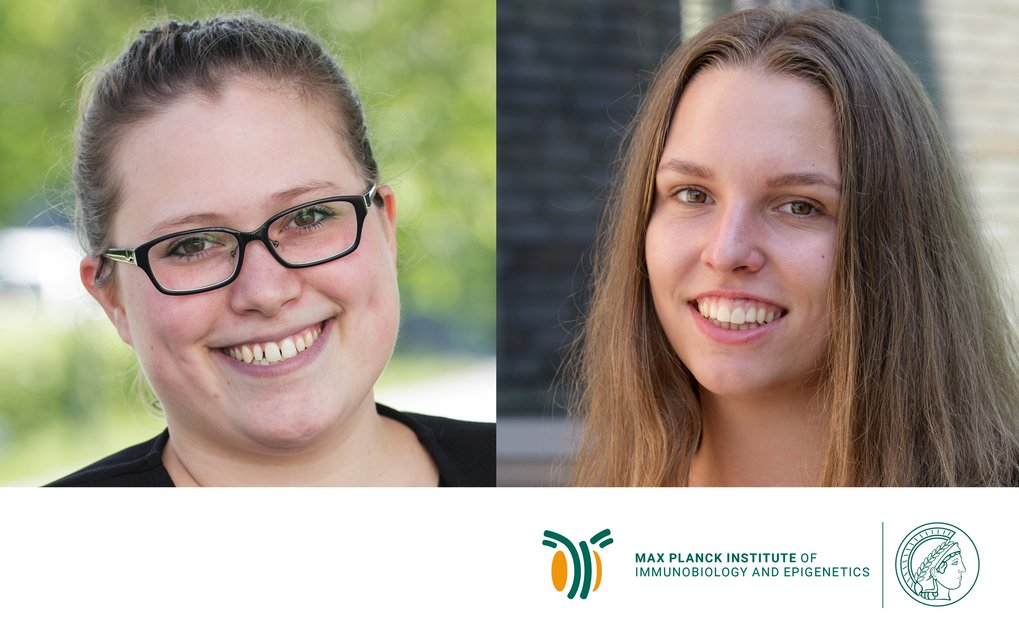 MPI-IE trainees Sophia Bares and Jule Friehs receive awards by the Max Planck Society
