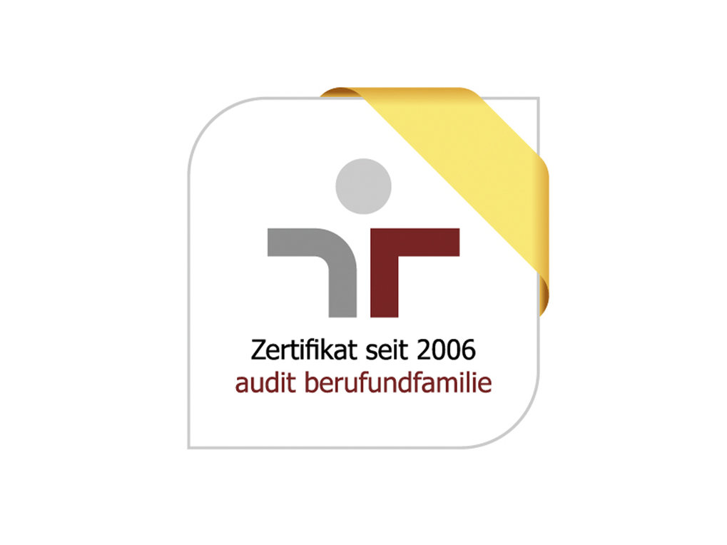The Max Planck Society, as a scientific organization with all its Institutes, is entitled to display the certification issued by the non-profit company berufundfamilie.